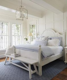 http://diy-home-yourself.blogspot.com/ ****Like the Lantern Pendant option for the bedroom - pretty room!
