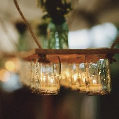Home decor ideas using mason jars (image by Beth Helmstetter)