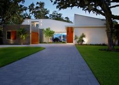 Barrier Island house in Vero Beach, Florida by Sanders Pace Architecture
