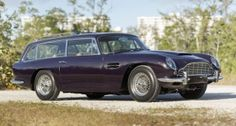 Photos courtesy Bonhams - the Aston Martin DB6 estate car
