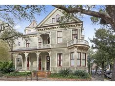 This week's Mansion Monday takes us to St. Charles Avenue and Second Street, where a three-story home is on the market for $2.2 million. Contact Gardner Realtors for more information at 504-891-1142.