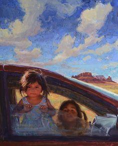 """Traditional Navajo Minivan""  by Scott Burdick"