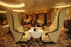 The World's Largest Cruise Ship: Allure of the Seas.....loved it...I sat in those chairs, lol!
