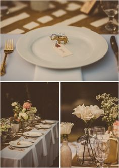 Love the idea of something at the place setting that is small/quirky, but pretty