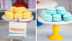 Pantone Party Guest Dessert Feature | Amy Atlas Events