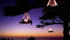 Tent tree house