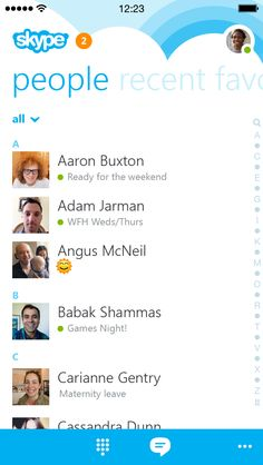 Skype for iPhone gets ground-up redesign; top designer talks future iPad  iOS 8 updates | 9to5Mac