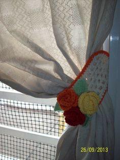 Alzapa os al crochet para cortinas buscar con google for Donde venden cortinas