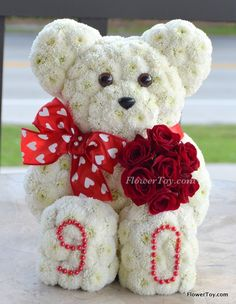 FlowerToy How Old Are You Now Bear-1004
