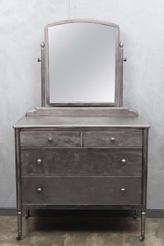 1930's Simmons Furniture Chest Of Drawers W/mirror