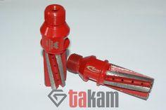 Frez palcowy CNC śr.25x50 #30 czerwony - WOOSUK