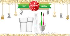 Santa Claus raffle: win 3x eco toothbrush sets! via Greenpicks on Facebook https://www.facebook.com/Greenpicks.de/