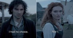 Poldark Season 2 Episode 7 #PoldarkPBS Photo: The morning after spending the night with Elizabeth, Ross tries to explain to Demelza...