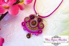 Mini Soutache Pendant - Miss Bijoux Claudine - summer 2016