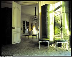 Jacques Grange interior pictures | couture salon was redecorated by interior designer Jacques Grange ...