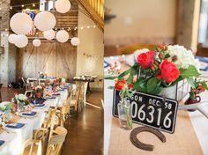 Make it yours   Americana Decor at Oregon Brasada Ranch Wedding #brasadaranch