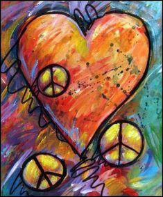☮ American Hippie Psychedelic Heart Peace Sign More Hippie Peace, Hippie Love, Hippie Art, Hippie Chick, Hippie Things, Happy Hippie, Hippie Style, Peace On Earth, World Peace