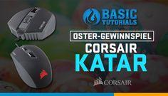 #Ostergewinnspiel: @Corsair Katar Gaming-Maus