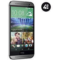 HTC One 2014 (M8) Smartphone débloqué 4G (Ecran: 5 pouces - 16 Go - Android 4.4 KitKat) Gris Acier