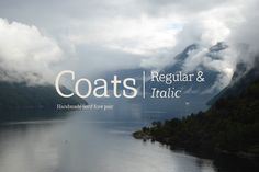 Coats Regular & Coats Italic  - Serif