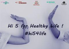 """Intră și tu în jocul igienei """"Hi 5 for Healthy life""""! Spală-ți mâinile, bate palma cu un prieten, fă-ți o poza în timpul actului Hi5, posteaz-o pe Facebook/Instagram cu hash-tag-ul #hi54life, #safeHANDS și provoacă-ți încă 3 prieteni să facă același lucru! Termenul de îndeplinire a provocării: 24 de ore. Cei care nu îndeplinesc provocare, îți datorează un gel igienizant. Start joc! #hi54life, #safeHANDS"""