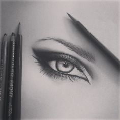 DeviantArt: More Like Quick Eye Drawing by Emackelder