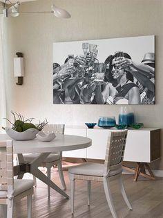 Elegant apartment by Deborah Wecselman Design