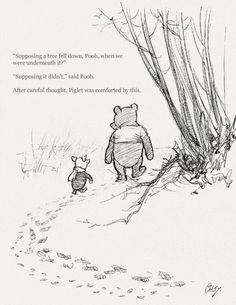 pooh reflects ○ on worry & anxiety