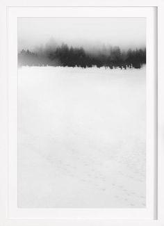 Landscape No. 30 als Gerahmtes Poster von typealive | JUNIQE