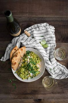 Coconut Green Curry with Potatoes and Chickpeas | Naturally Ella