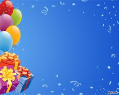 birthday powerpoint template happy birthday backgrounds for