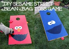 Sesame Street First Birthday Party
