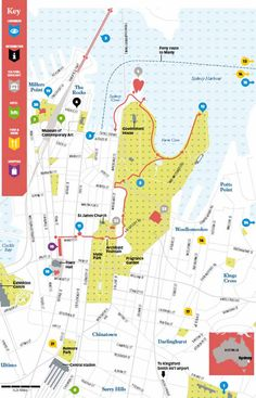 inner city centre cbd detailed street travel guide must see places