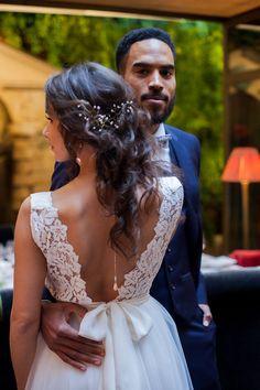 Girls Dresses, Flower Girl Dresses, Lace Wedding, Wedding Dresses, Mi Long, Tutu, Hair, Fashion, Up Dos