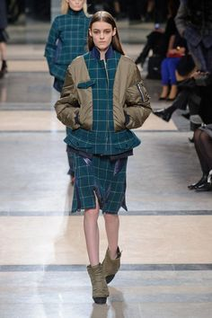 Sacai Autumn (Fall) / Winter 2013