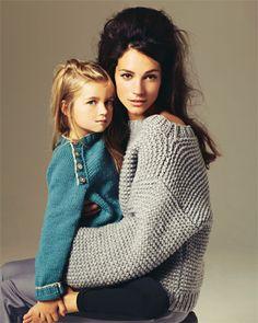 oversized sweater (from the german Brigitte)