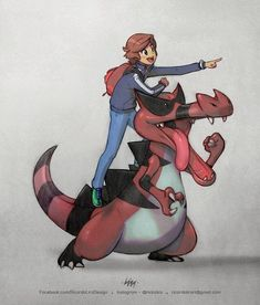 João Meirelles and his Pokémon partner, Krookodile. Work for the trainer COMMISSION Emboar Pokemon, Oc Pokemon, Cute Pokemon, Pokemon Stuff, Pokemon Images, Pokemon Pictures, Equipe Pokemon, Geeks, Ash And Misty