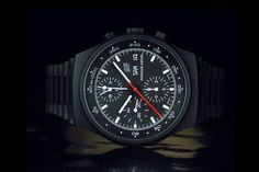 WatchTime Wednesday: Porsche-Design Titanium Watches - Monochrome-Watches(Porsche Design Orfina Chronograph)