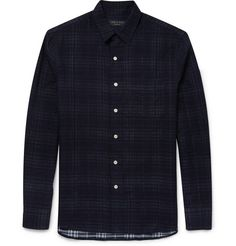 Rag & boneDouble-Faced Checked Cotton Shirt