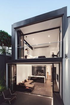 Small luxury homes interior small luxury homes glazed doors interior decorator degree luxury with best modern . small luxury homes interior Loft Design, Modern House Design, Design Room, Design Model, Casas Containers, Design Exterior, Loft House, Modern Loft, House Goals