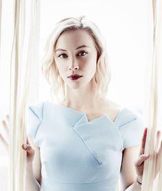 """fysarahgadon: """"  Sarah Gadon portraits for 2016 Winter TCA in Pasadena, CA (x) """""""