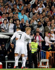 Cristiano Ronaldo CR7 and Martin Ødegaard (Norway) debut Real Madrid