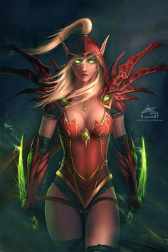 Warcraft: Valeera Sanguinar by raikoart.deviantart.com on @DeviantArt