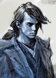 Human Face Sketch, Star Wars Concept Art, Anakin Skywalker, Star Wars Episodes, Sith, Revenge, Illustrations, Stars, Inspiration
