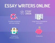 Essay Writers Online https://essayunion.com/