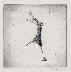 Verve. Original etching by valdas on Etsy, $18.00