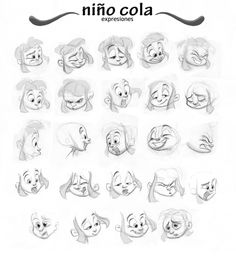 niño cola expressions by Roberto Fernandez Johns