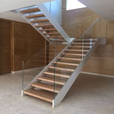 Beautiful Home Ideas: Beautiful Home Ideas With Glass And Wooden Staircase  Design | Interior Railing | Pinterest | Wooden Staircase Design, Staircases  And ...