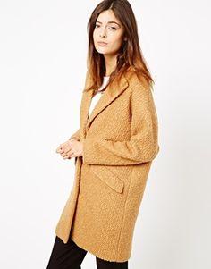 long camel colored textured coat #asos get 30% off 11.27 now til 11.30 (8pm EST) CODE: TGIBF