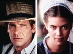 """Harrison Ford / Kelly McGillis in """"Witness"""" Kelly Mcgillis, Street Performance, It Takes Two, Falling In Love With Him, Harrison Ford, Movies To Watch, The Voice, Entertaining, Stars"""